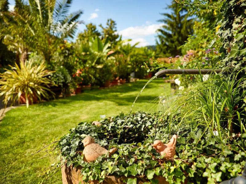 Mediterane Garten landhaus kiebel der mediterane garten